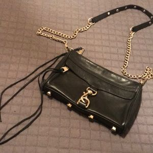 Rebecca Minkoff Mini MAC bag in black